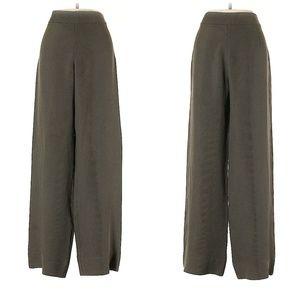 Giorgio Armani Gray High Rise Dress Pants